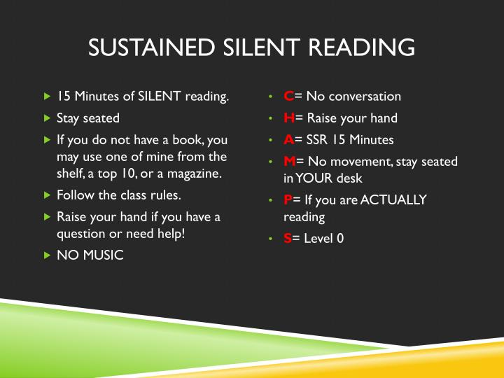 importance of silent reading The importance of reading aloud to children by tracy buckler according to mem fox, author of reading magic, if parents understood the huge educational benefit and intense happiness brought about by reading aloud to their children, and if every parent—and every adult caring for a child—read aloud a minimum of three stories a day to the children in their lives, we could probably wipe out.