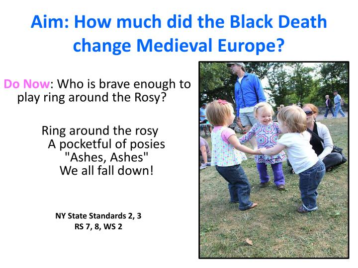 Aim how much did the black death change medieval europe