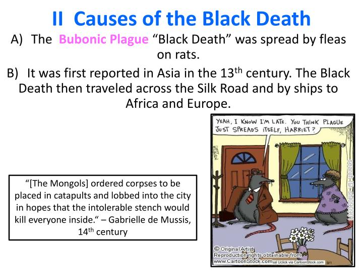 Ii causes of the black death