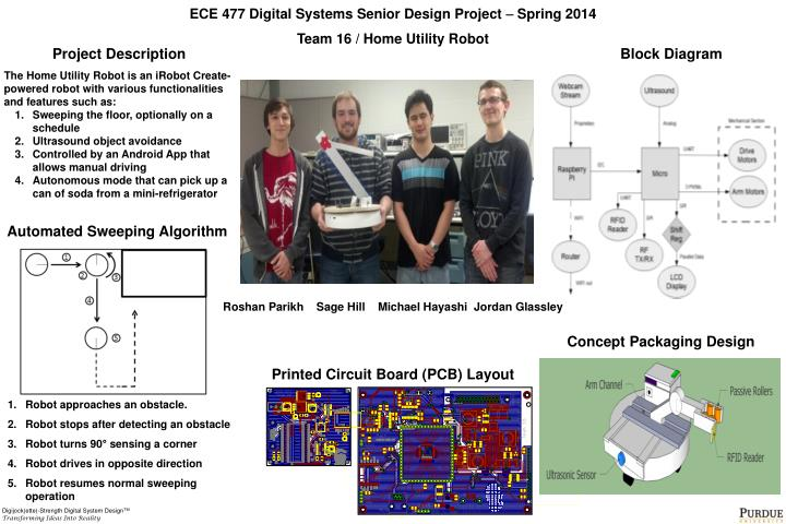 PPT - ECE 477 Digital Systems Senior Design Project  Spring 2014 ...