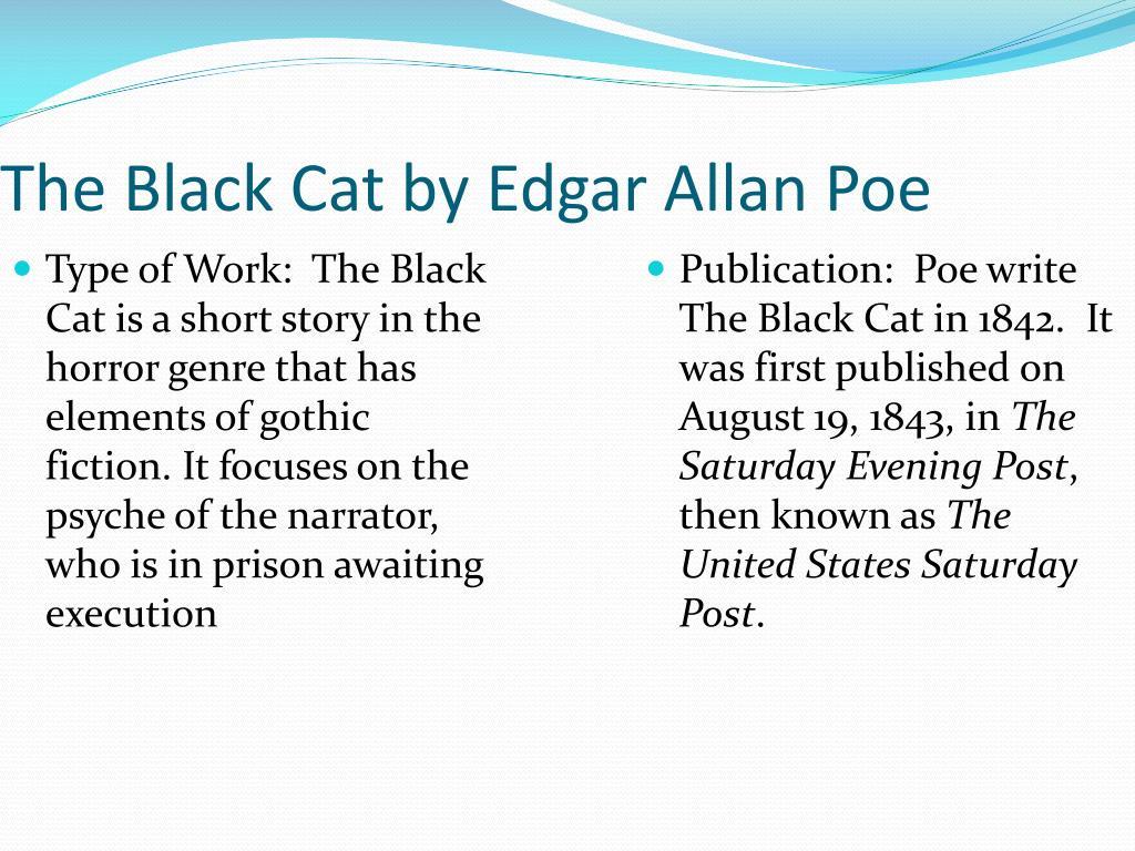 the black cat edgar allan poe symbolism