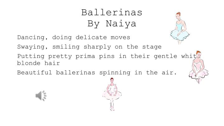 ballerinas by naiya