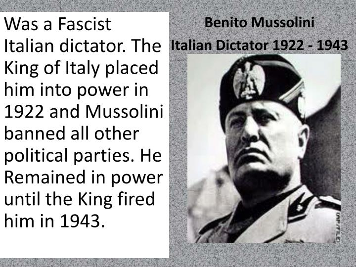 economy of italy under fascism 1922 1943 Italian fascism was full of paradoxes, one of which concerned the cinema why did this self-styled totalitarian regime adopt such an apparently laissez-faire attitude towards this major art form and medium of entertainment and if italian cinema in the fascist period was rarely propagandistic, was.