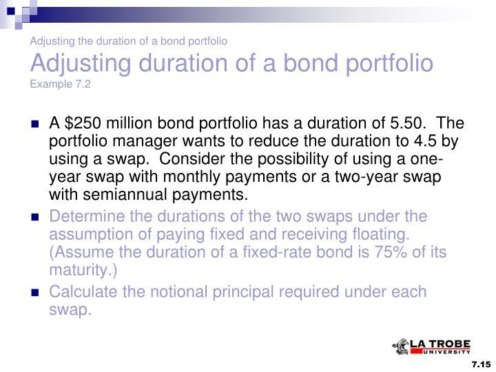 bond duration and portfolio Portfolio swap futures bond2 bond1 pool intro bond_price convexity duration mod_duration predicted_change yield_change bond.