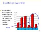 bubble sort algorithm12