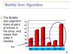 bubble sort algorithm13