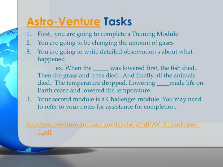 Astro-Venture