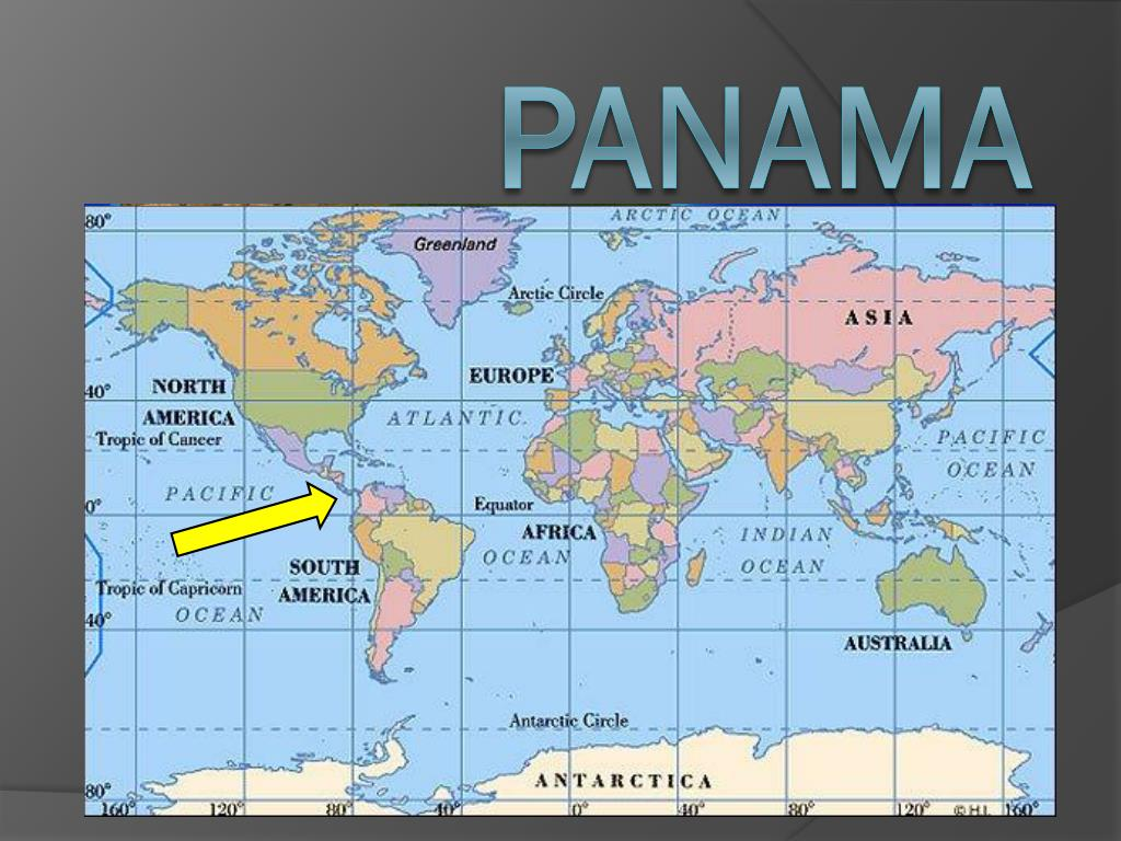 Picture of: Ppt Panama Powerpoint Presentation Free Download Id 2506628