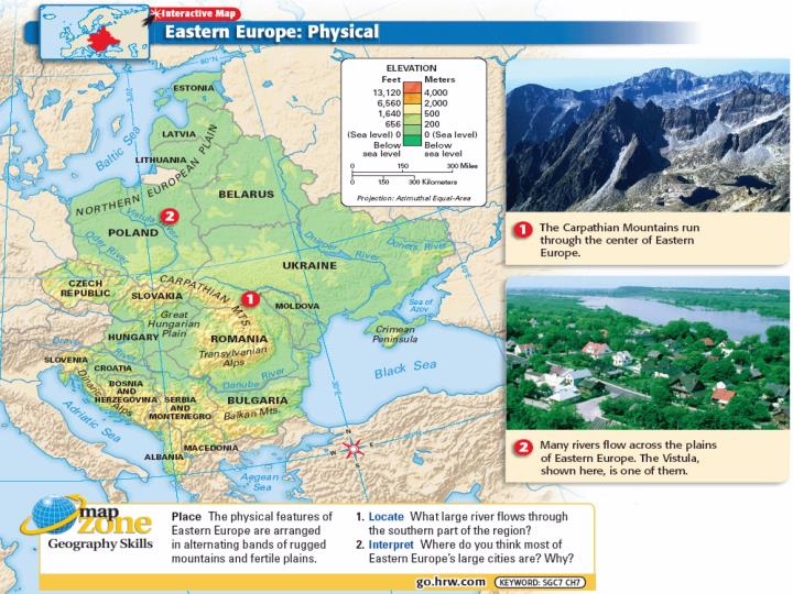 The new eastern europe