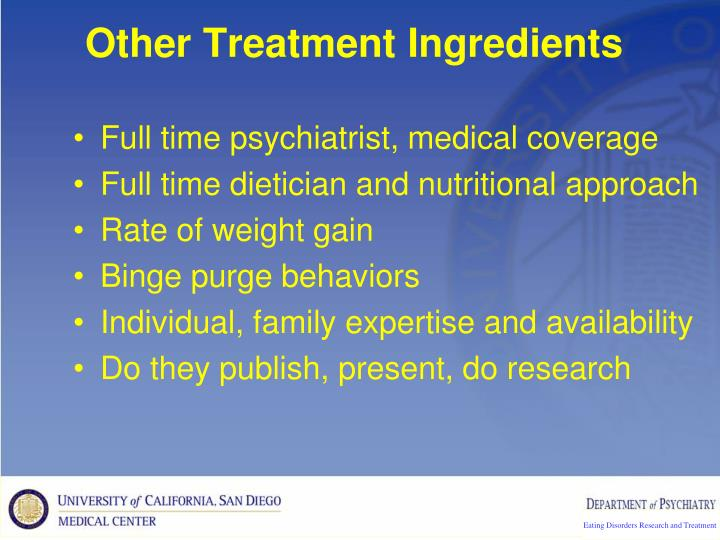 Other Treatment