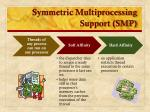 symmetric multiprocessing support smp