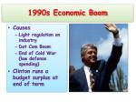 1990s economic boom