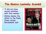 the monica lewinsky scandal
