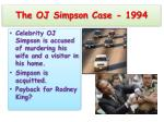 the oj simpson case 1994