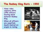 the rodney king riots 1992