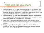 here are the questions1