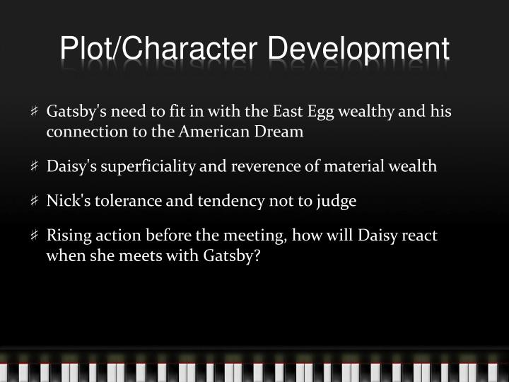 gatsby nick character counts How does setting affect character what are the advantages/disadvantages of having nick narrate the story of the great gatsby his count of enchanted.