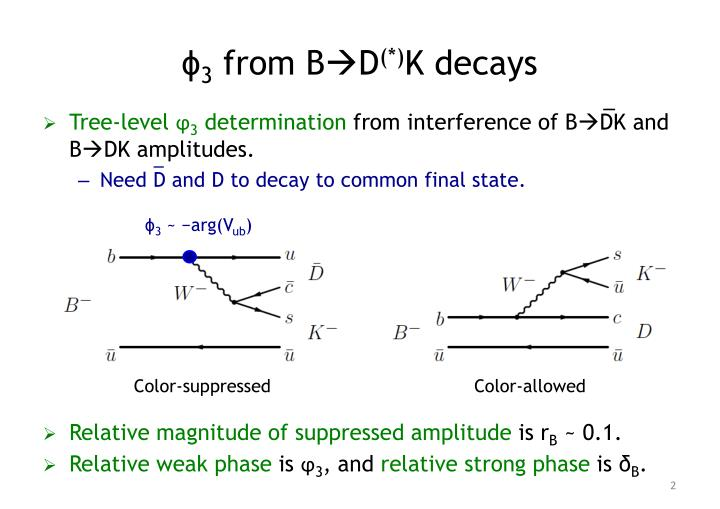 3 from b d k decays