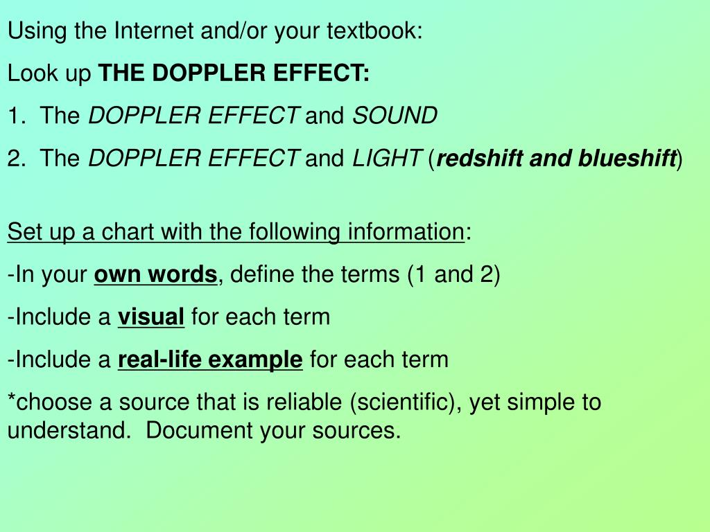 definition of doppler effect in science