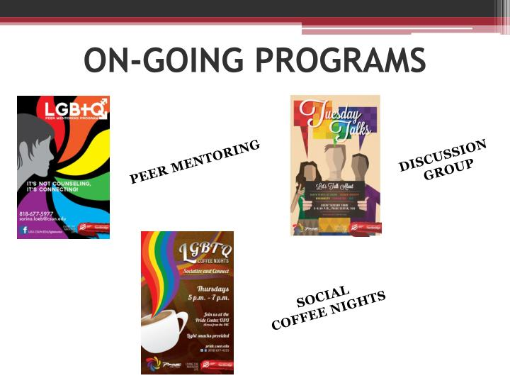 ON-GOING PROGRAMS