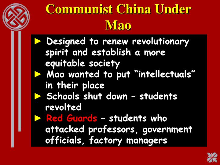 Communist China Under Mao