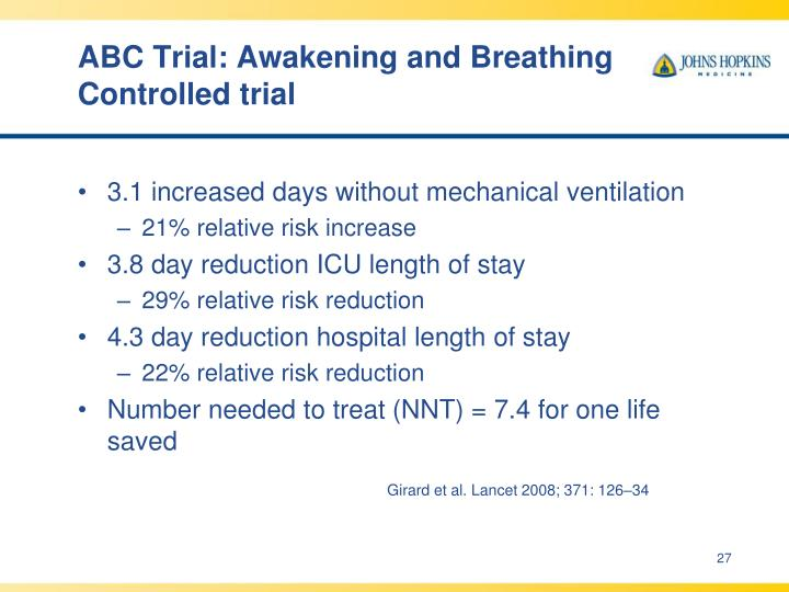 ABC Trial: Awakening and Breathing Controlled trial