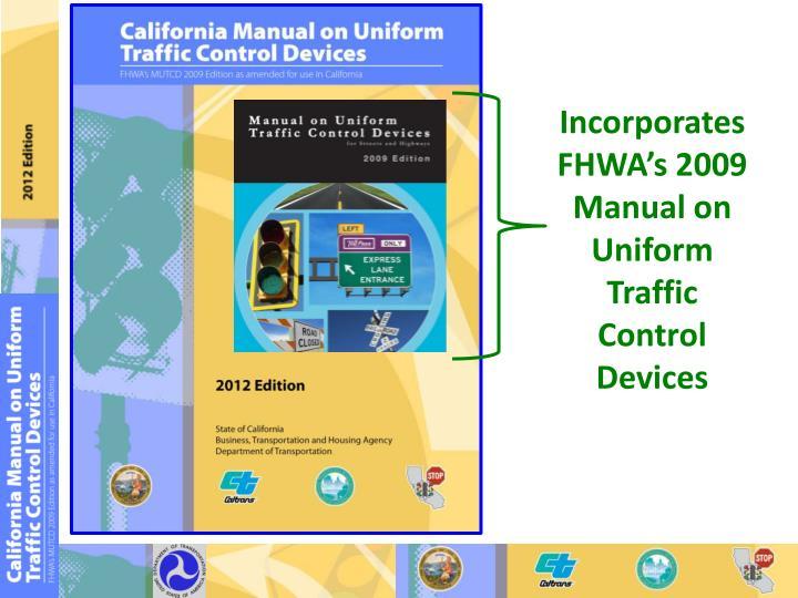 Fhwa manual on uniform traffic control devices
