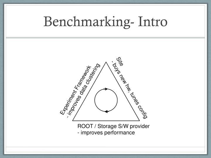 Benchmarking intro