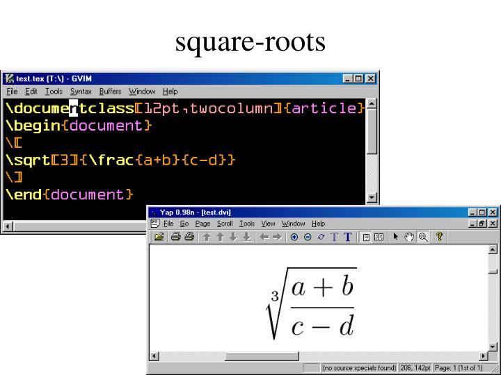 square-roots