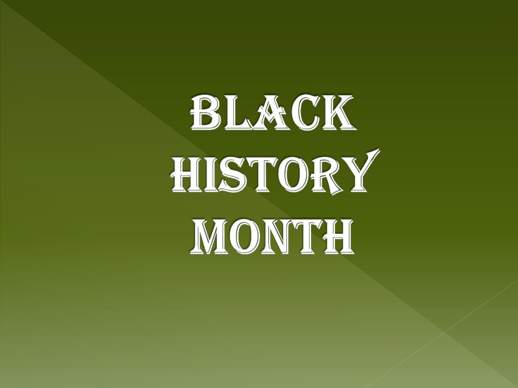 ppt black history month powerpoint presentation id 2508419