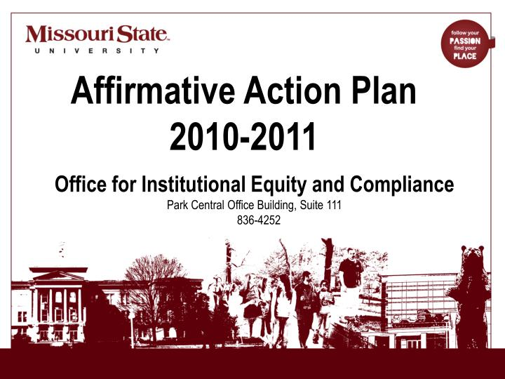 a study on affirmative action in employment Affirmative action refers to a range of corporate and social policies that are intended not only to eliminate discrimination, whether in employment affirmative action programs differ widely in the extent to which they attempt to overturn discrimination some programs might simply institute reviews.