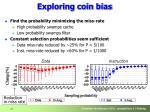 exploring coin bias