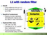 l1 with random filter1