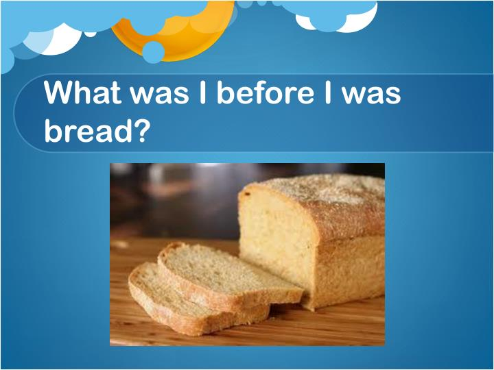 what was i before i was bread n.