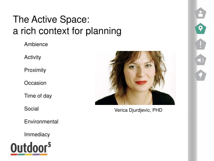 The Active Space: