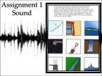 assignment 1 sound