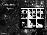 assignment 4 space