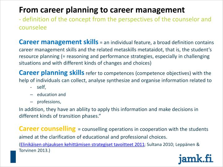 PPT - Career management skills and employability Anne ...