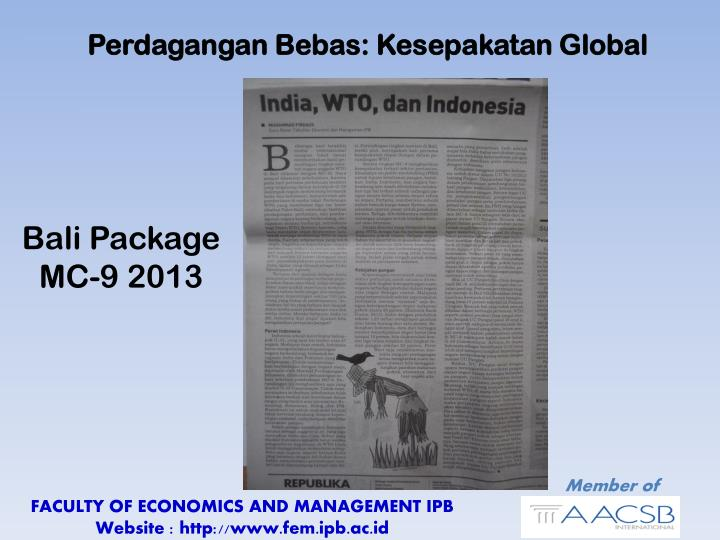 Perdagangan Bebas: Kesepakatan Global