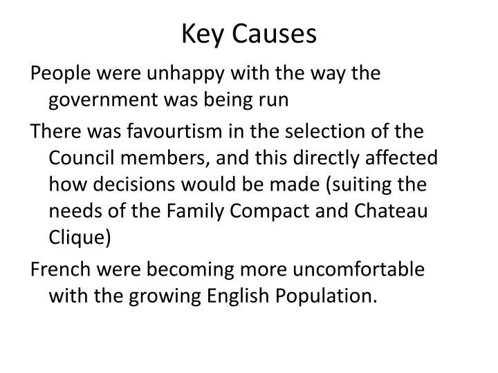 Key Causes