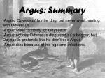 argus summary