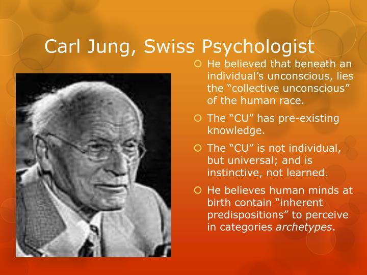 Carl Jung, Swiss Psychologist