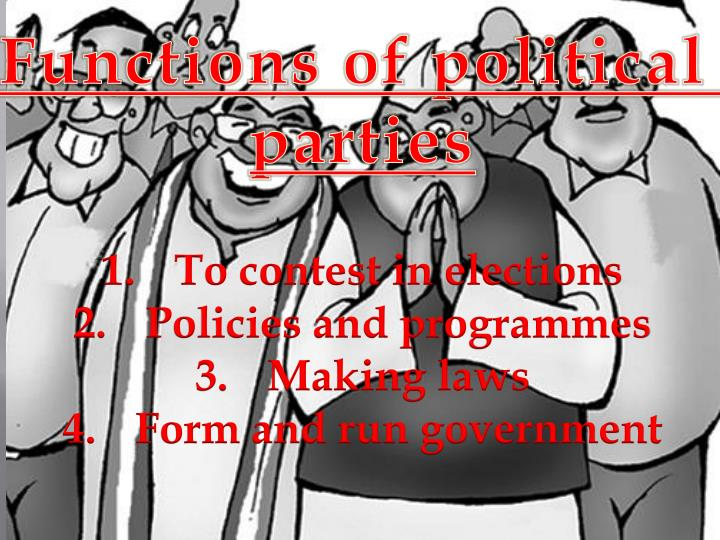 Functions of political