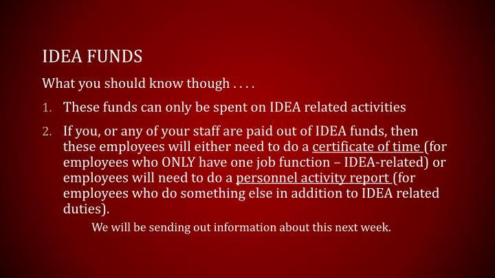 IDEA Funds