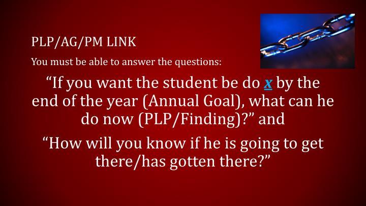 PLP/AG/pm link