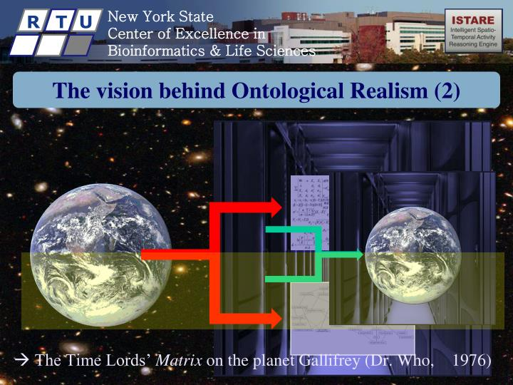 The vision behind Ontological Realism (2)