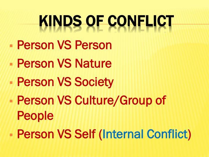 Person VS Person