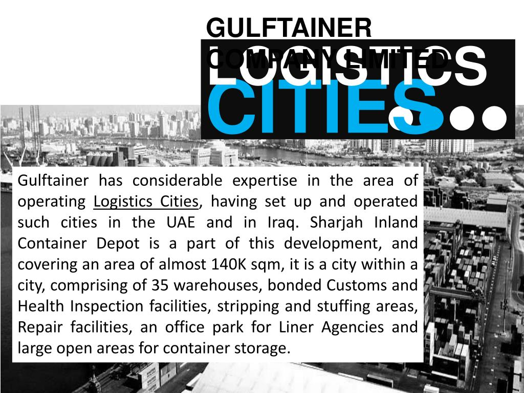 PPT - Gulftainer Company Limited United Arab Emirates