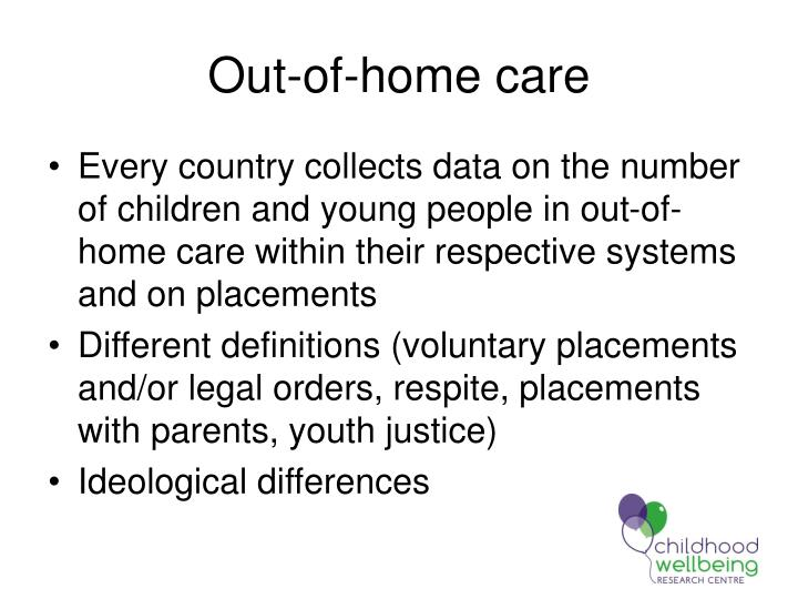 Out-of-home care