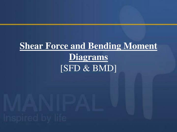 Ppt Shear Force And Bending Moment Diagrams Sfd Bmd Powerpoint